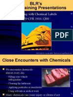 Working With Chemical Labels