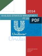 Analisis Strategi Manajemen Pt Unilever