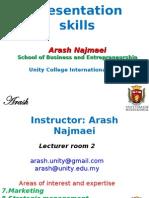 Presentation skills-unity( MBA)-