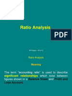 Ratio Analysis - 1
