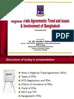9. RTAs and Bangladesh
