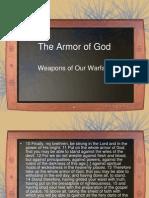 The Armor of God.part 3 Warfare