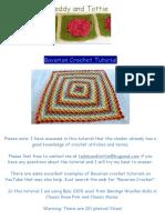 Bavarian Crochet Tutorial PDF
