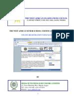 WAEC Online E- Registration Manual