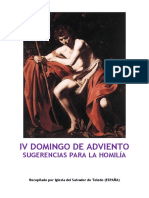 IV Domingo de Adviento. Forma Extraordinaria del Rito Romano- Sugerencias para la Homilía