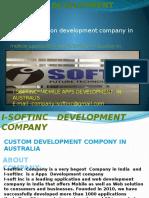 mobile application development company in Australia