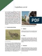 Leptailurus serval.pdf
