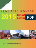Statistik Daerah Kecamatan Batununggal 2015