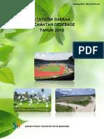 Statistik Daerah Kecamatan Gedebage 2015