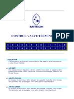 Control Valve Terminology