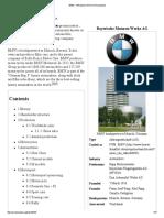 BMW - Wikipedia, The Free Encyclopedia