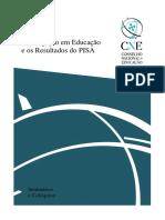 Resultados do PISA Investigação Em Portugal