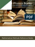 IIT JAM Physics Reference Books