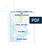 Fact Finding Committee on Mumbai Floods-Vol1