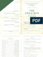 The Crucible Programme