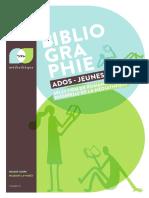 Bibliographie Ados - jeunes adutes