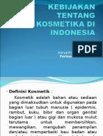 Kebijakan Kosmetik Di Indonesia