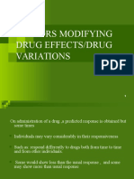 FACTORS MODIFYING DRUG EFFECTS.ppt