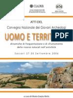 Dinamiche insediative nella media valle del Mascari (SS):tracce inedite della viabilità antica