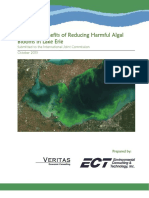 Economic Benefits Due to Reduction in Harmful Algal Blooms (HABs) in Western Lake Erie