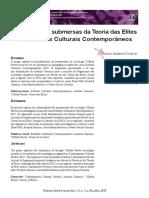 Contribuições submersas da Teoria das Elites aos Estudos Culturais Contemporâneos