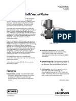 Fisher V260 Ball Valve Catalogue