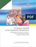 El Trabajo Infantil en La Legislacion Dominicana