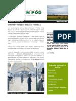 GreenPod Notiziario 19 Dic 2015