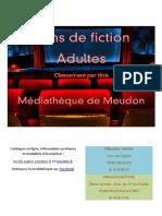 Films de fiction de la Médiathèque de Meudon