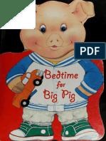 Bedtime for Big Pig Story