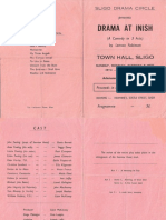 Drama at Inish Programme