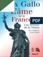 Max Gallo - L'Âme de La France