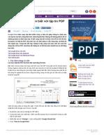 Những thủ thuật nên biết với tập tin PDF trên Google Drive