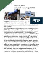Ministerio Público No Indagó Indicios Enviados Por La CNBS