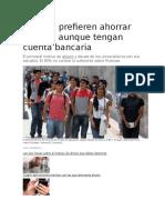 Finanzas en jovenes