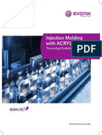 Manual Acrylite Injection Molding Brochure