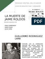 Exposición Muerte de Jaime Roldós