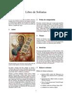Libro de Sofonías