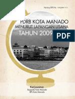 PDRB Manado 2011