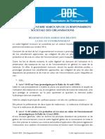Cadre Réglementaire - Eau Et Environnement