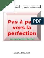 production ecrite 6eme
