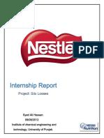 Internship Report by Ali