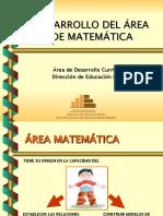 AREA DE MATEMATICAS