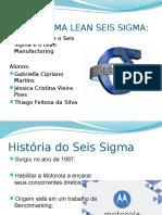 Lean Seis Sigma - Projeto Desenvolvido em Power Point