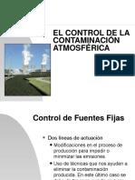 Control de La Contaminacion Del Aire (Ssa)