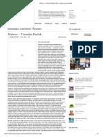 Matrica – Tomislav Budak _ 2012 Transformacija Svijesti