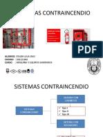 Maquinas y Equipo en Sistemas Contraincendio