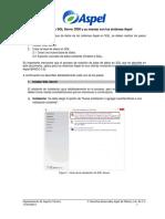 Instalacion de SQL Server 2008 y Su Manejo Con Los Sistemas Aspel