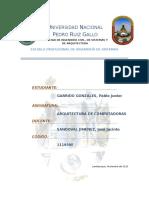 Trabajo Final - Arquitectura de Computadoras - 2015 II - Garrido Gonzales Pablo Junior