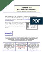 Box and Whisker Primer